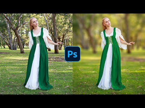 How To Blur Backgrounds in Photoshop [FAST & EASY!]
