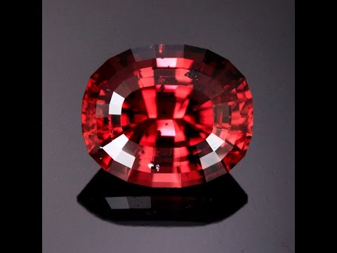 Huge Red Zircon 14.10 Carats