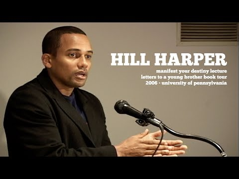 Sample video for Hill Harper