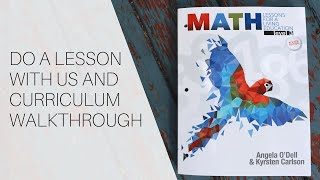 Masterbooks Math For A Living Education Level 3 | Curriculum Walkthrough And Do A Lesson With Me