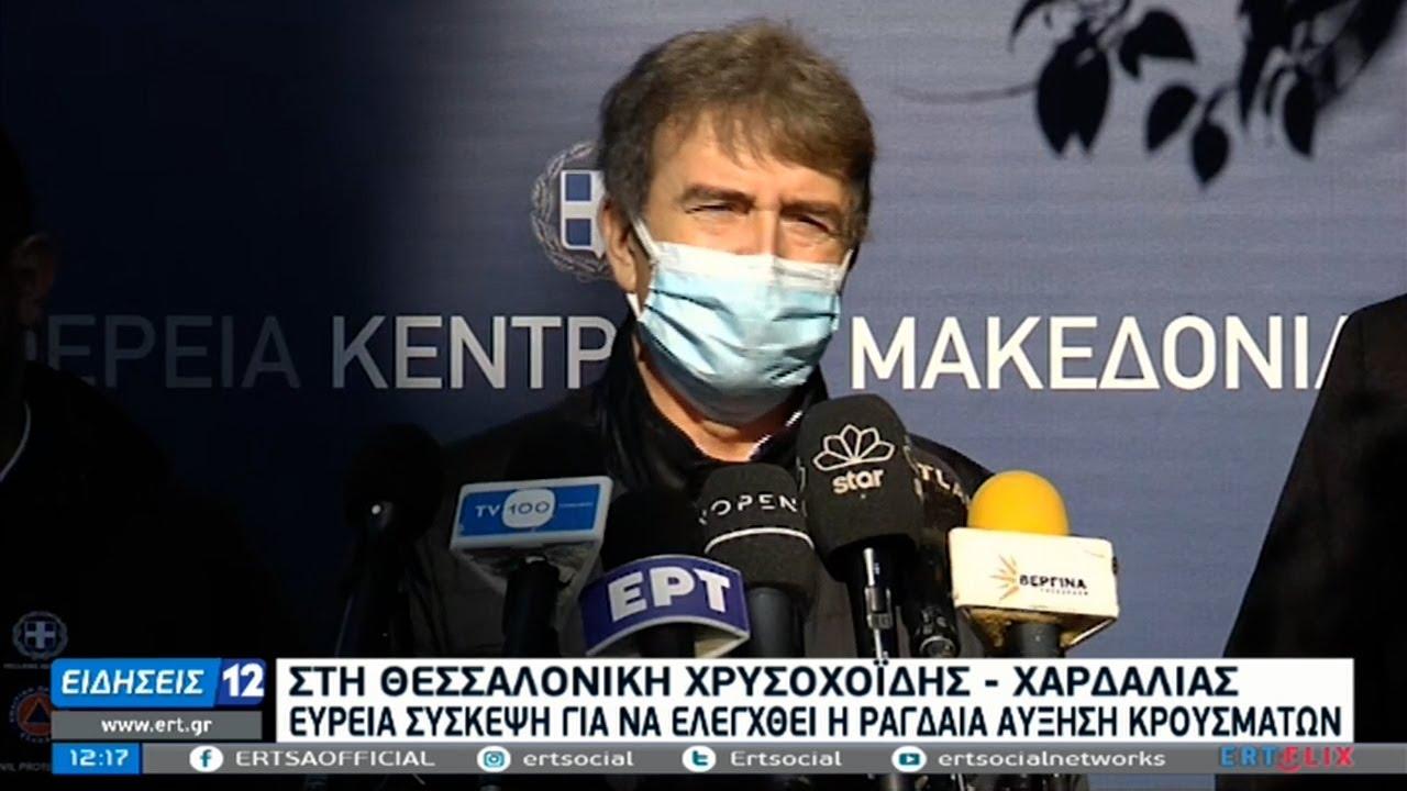 Θεσσαλονίκη: Αυστηρή τήρηση των μέτρων ζήτησαν Χρυσοχοΐδης & Χαρδαλιάς | 04/02/2021 | ΕΡΤ