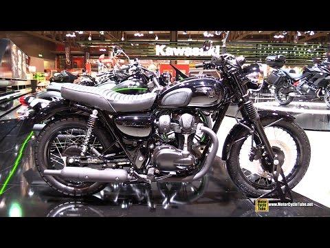 2015 Kawasaki W800 - Walkaround - 2014 EICMA Milano Motocycle Exhibition