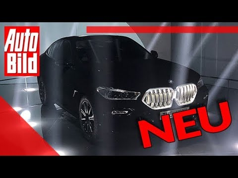 BMW X6 Vantablack (2019): Auto - IAA - Showcar
