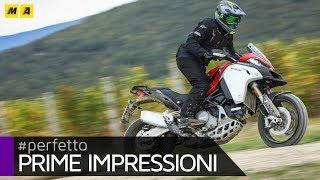 Ducati Multistrada Enduro 1260 2019: TEST [ENGLISH SUB]