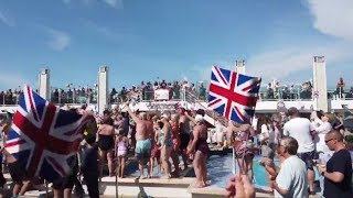 video: All you can drink cruise packages criticised by P&O passengers as police rule out clown as brawl perpetrator