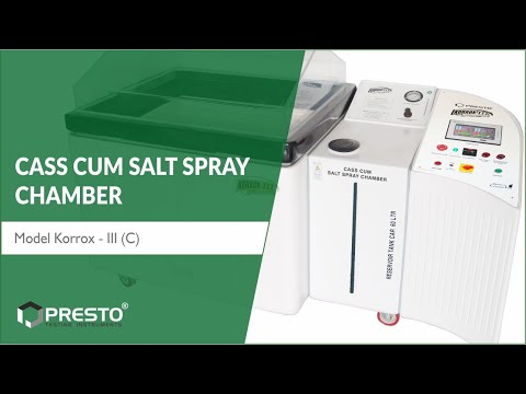 CASS Cum Salt Spray Chamber