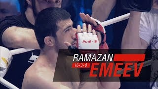 Рамазан Эмеев / Ramazan Emeev, хайлайт бойца