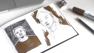Sketchbook Sessions · Dealing with Self-Doubt · SemiSkimmedMin