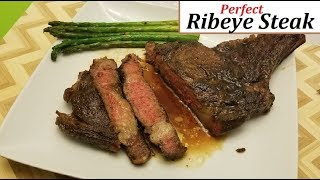How To Cook A Ribeye Steak Like A Gordon Ramsay | Pan Seared Butter-Basted Steak