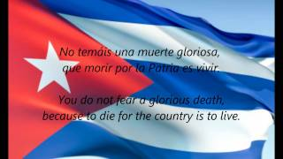 Cuban National Anthem - 'La Bayamesa' (ES/EN)