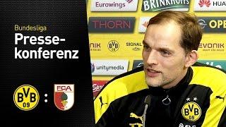Thomas Tuchel: Müssen uns bis an die Decke strecken | BVB - FC Augsburg