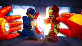Realistic Roblox Iron Man Vs Captain America Minecraftvideos Tv