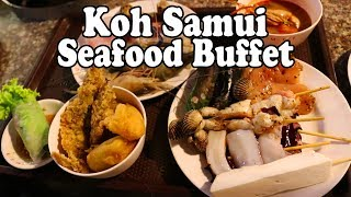 Koh Samui Seafood Buffet. BBQ Seafood in Thailand. All You Can Eat Thai Food on Koh Samui