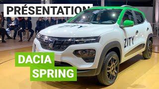 A bord du DACIA Spring : tout SAVOIR sur ce SUV à moins de 15000€
