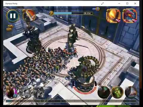 Olympus Rising Game - Achilles performance