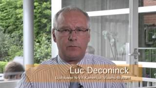 preview picture of video 'Luc Deconinck lijstduwer N-VA clip1'