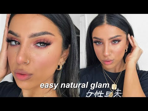 FRESH & GLOWY SPRING MAKEUP TUTORIAL | EASY NATURAL GLAM