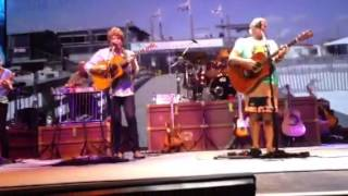Jimmy Buffett and Mac McAnally