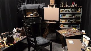Small Artist Studio - How To Set Up A Simple Home Studio For Artists