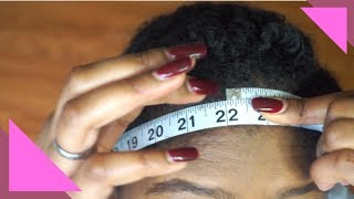 Affordable Wig Series #1 | DIY Wig Measurements (Customize Mannequin Head)