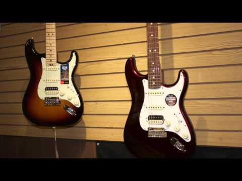 Fender Stratocaster Shootout Elite v. American Standard v. Mexican Standard