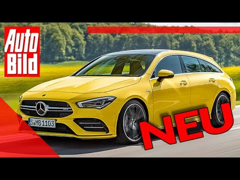 Mercedes-AMG CLA 35 Shooting Brake (2019): Neuvorstellung - Infos