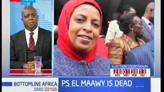 Bottomline Africa: PS  Maryam Al Maawy's death