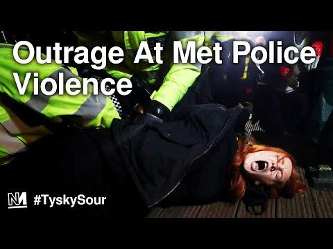Outrage At Met Police Handling Of Sarah Everard Vigil   #TyskySour