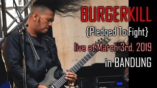 BURGERKILL - Undamage & Pledge To Fight (HD Video - The Best Audio)