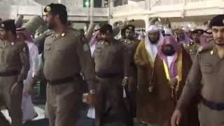 preview picture of video 'Shaikh Abdul Rahman Al-Sudais on way to Salaah-al-Mayyat (Funeral Prayer)'