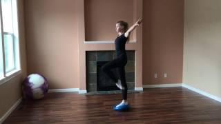 Балансир для тренировки равновесия