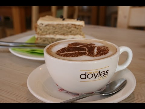 Watch this to see our coffee stencil being used on a hot frothy cappucino