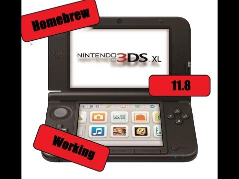 How to Homebrew Your Nintendo 3DS 11 8 for FREE - смотреть