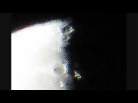 Giant Orb & Alien Ship In For A Landing On Our Moon 13 01 2015