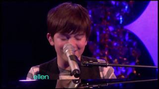 """Greyson Chance Performs """"Waiting Outside The Lines"""" On Ellen"""