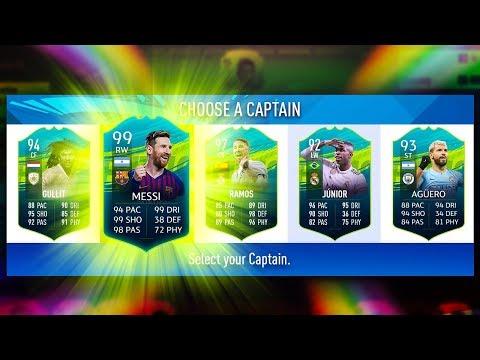 INCREDIBLE RAINBOW DRAFT CHALLENGE! - FIFA 19 Ultimate Team