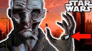 Star Wars Episode 8 The Last Jedi Snoke