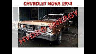 1974 Chevrolet Nova hidrojen yakıt tasarruf sistem montajı
