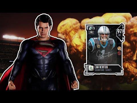 Madden NFL 18 Ultimate Team: SuperMan Steals The Starting Job! (97 OVR Cam Newton Gameplay)