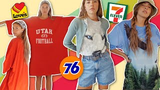 i tried styling clothes from a GAS STATION