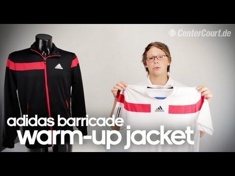 adidas Barricade Warm Up Tennis Jacket