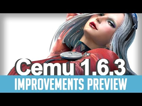 Cemu 1,6,3 (Wii U Emulator) | Improvements Preview