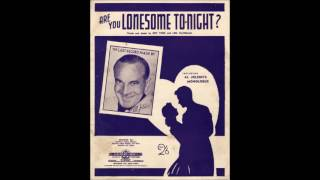 Al Jolson - Are You Lonesome Tonight (1950)