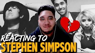 REACTING TO STEPHEN SIMPSON (Kirstin Maldonado & Jeremy Michael Lewis Engaged)