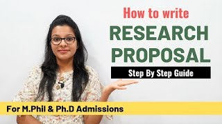 Ultimate Guide to write Perfect Research Proposal