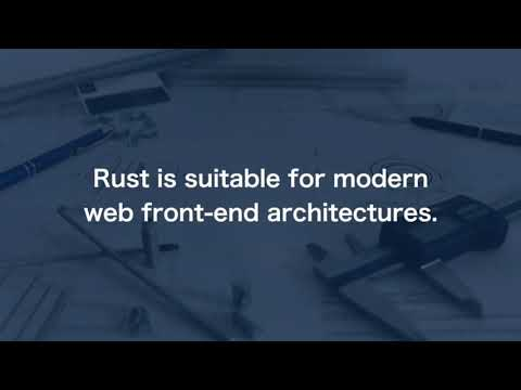 Image thumbnail for talk Think About Front-end Web Development with Rust