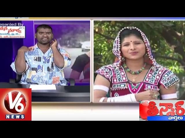 Mangli Funny Conversation with Bithiri Sathi Mar 13, 2016