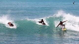 ハワイのボディボード専用ビーチ「ワイキキ ウォールズ」