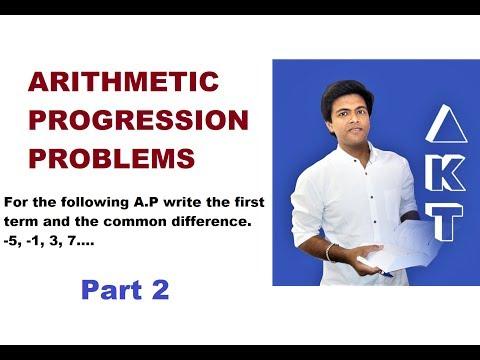 Arithmetic Progression Problems: Class 10: PART 2