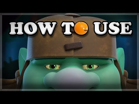 How to Use Goblin Giant | Clash Royale 🍊